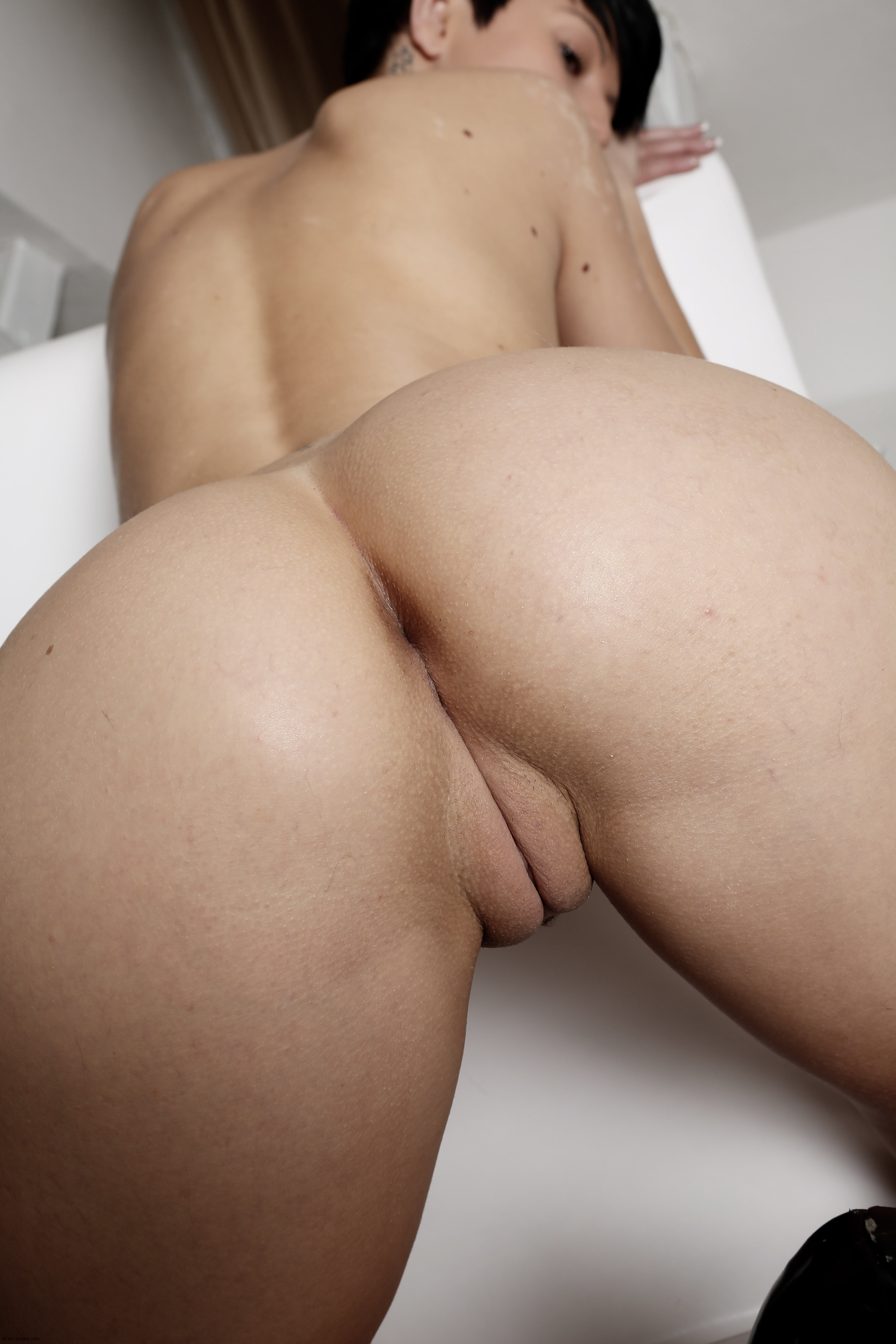 Fat Ass Shaved Pussy