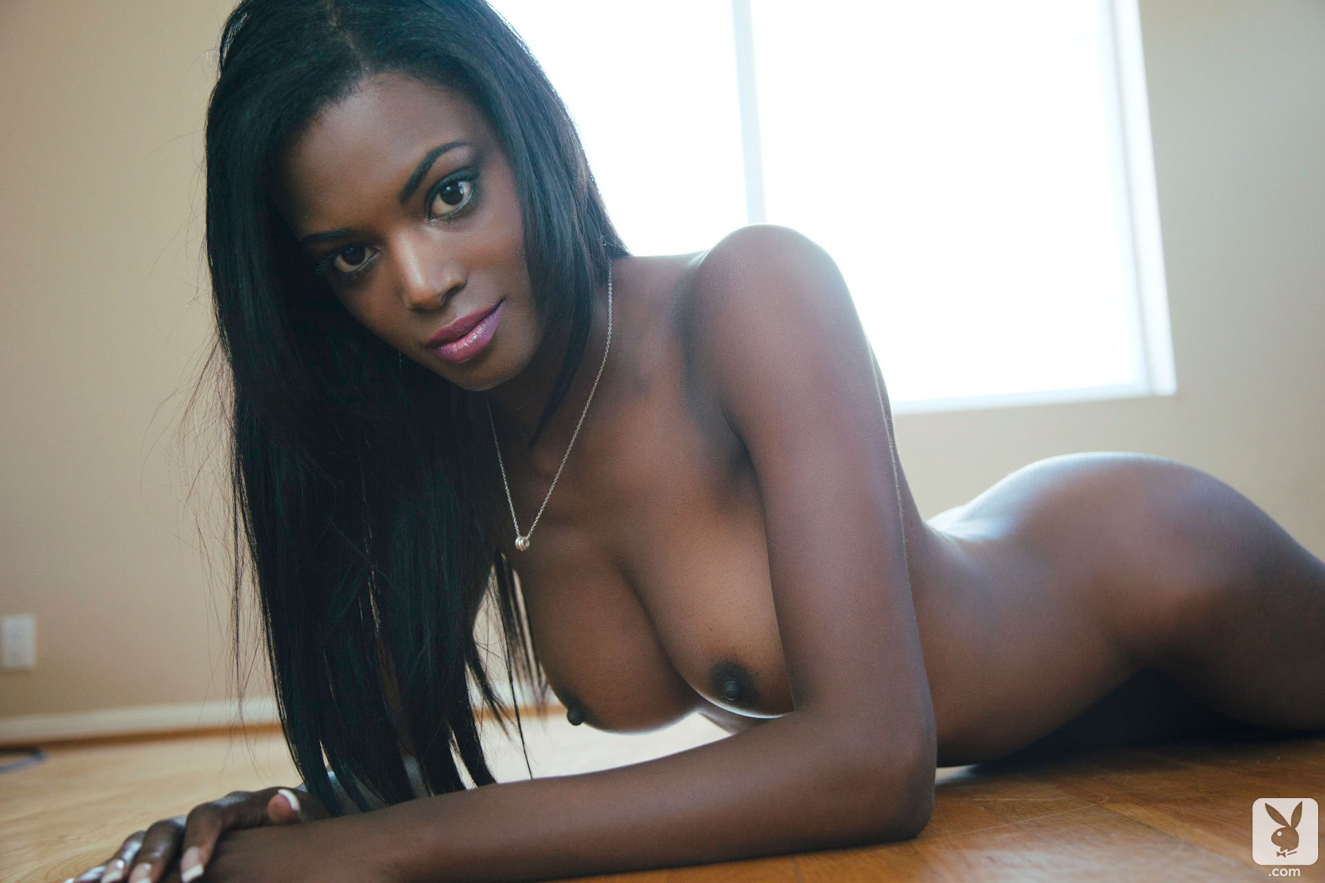 Light black babes nude