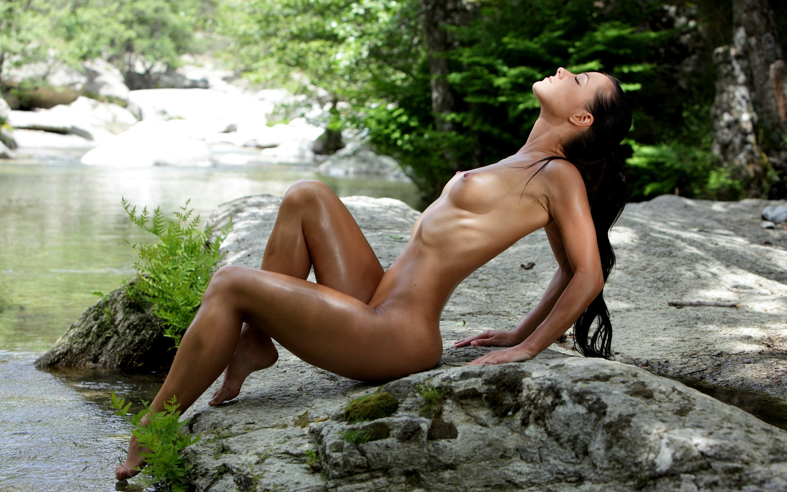 Nude babes sexy nude models posing naked