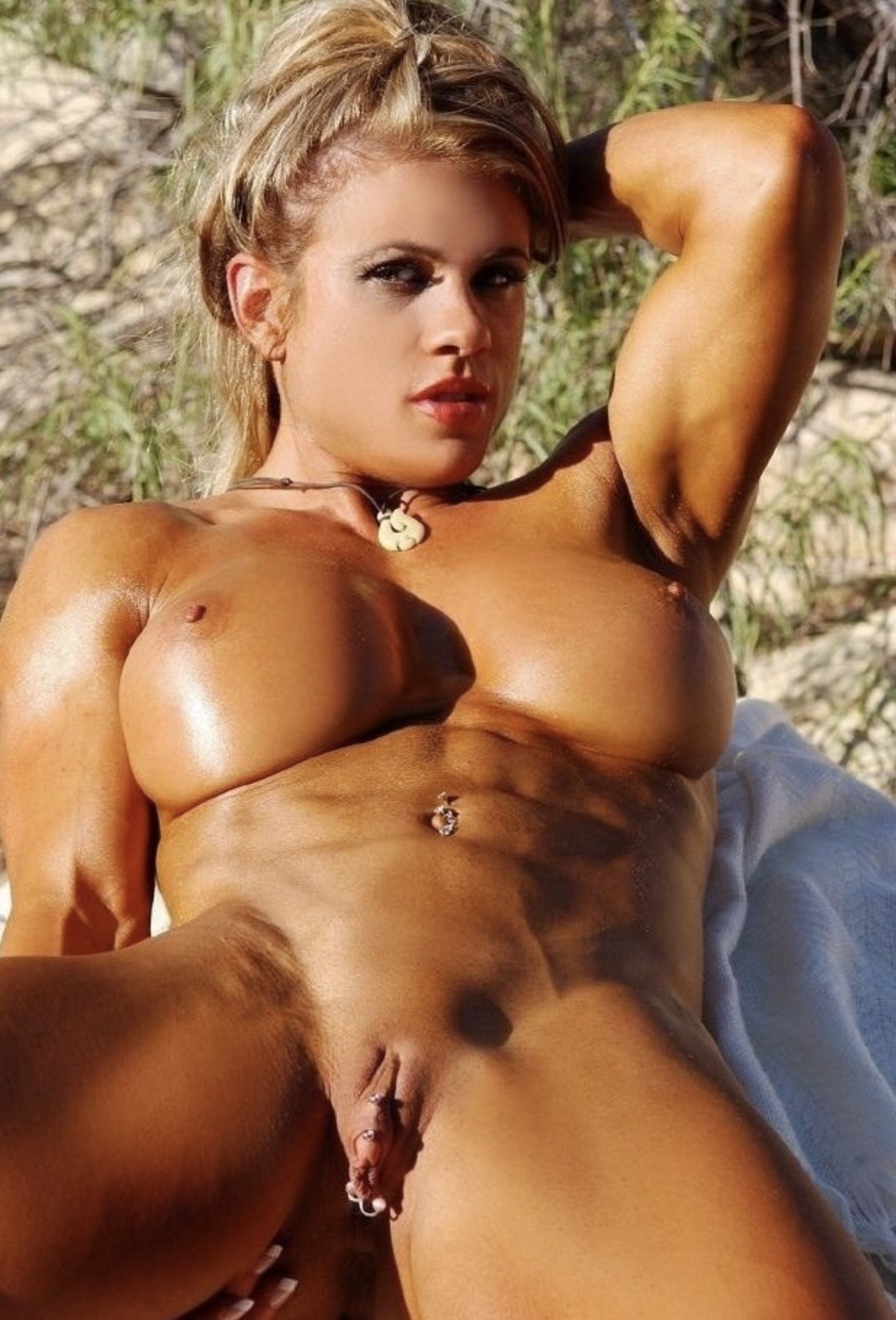 Fbb showers shows off her naked muscles tnaflix porn pics