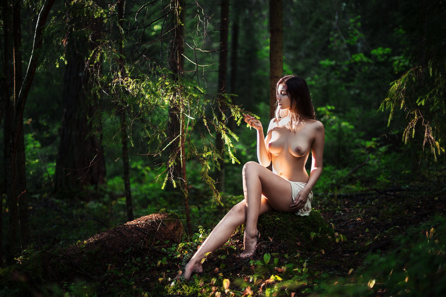Naked Russian Girls Forest