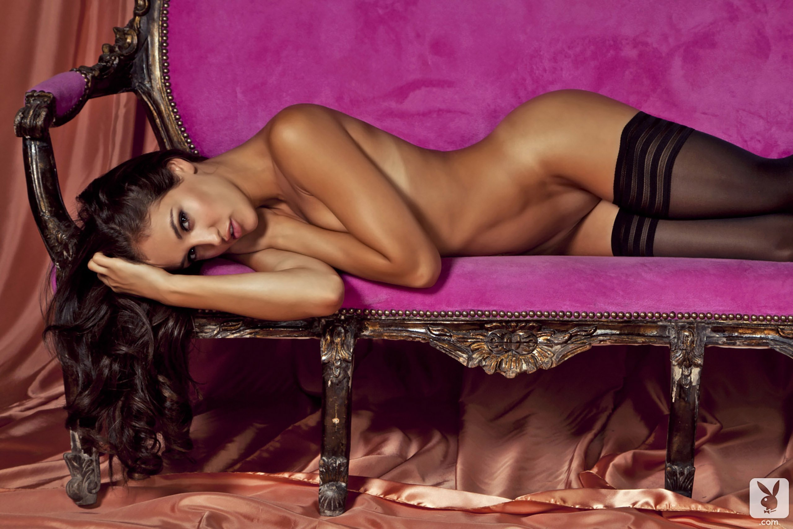 Nude boudoir and erotic photography, fine art glamour