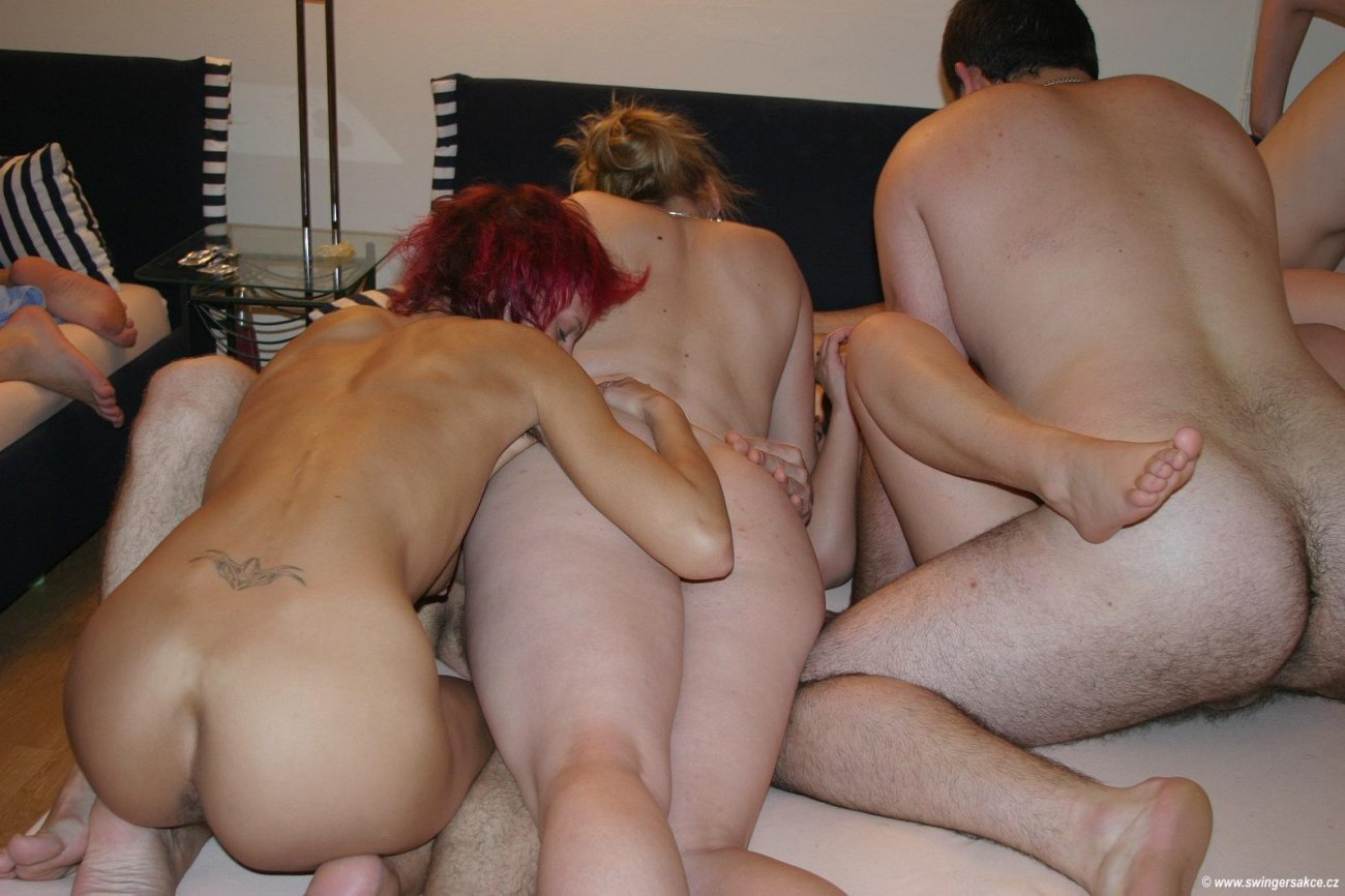 Swinger climax between all these horny couples having sex together tnaflix porn pics