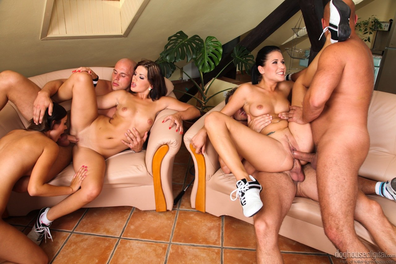 Gangbang And Double Penetration Orgy Porn Images Sex Pics