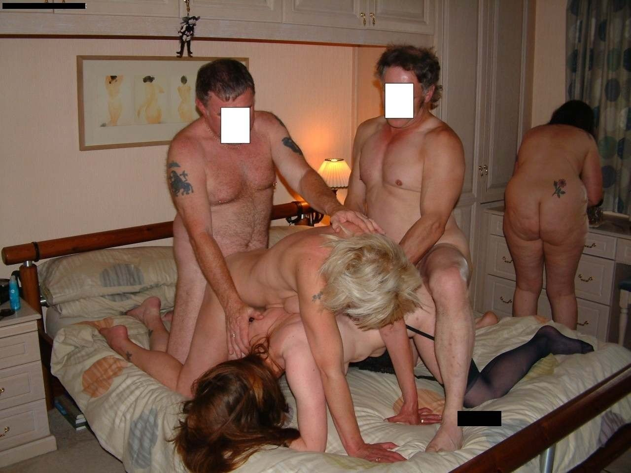 German extreme hardcore swinger party with creampie