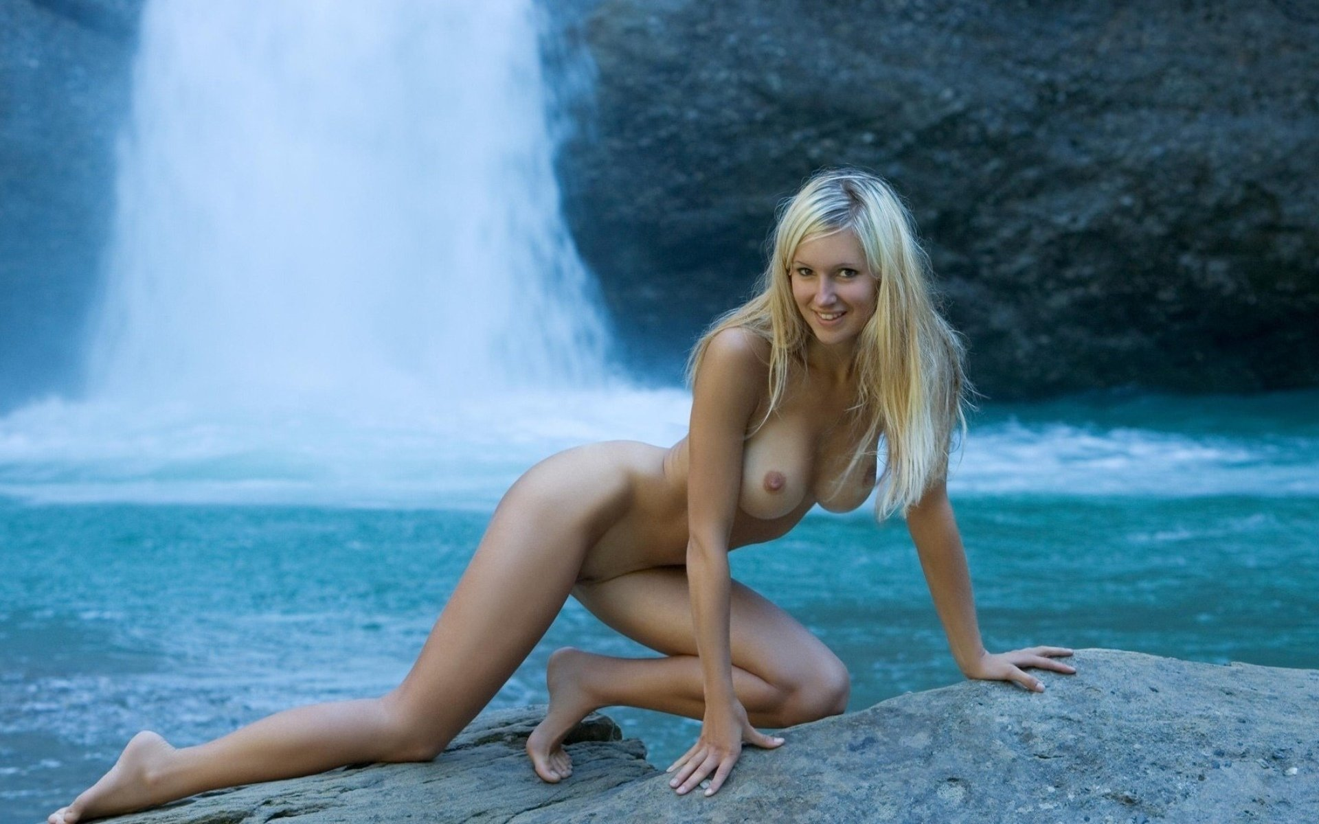 Blondes Sexy Hot Lesbian
