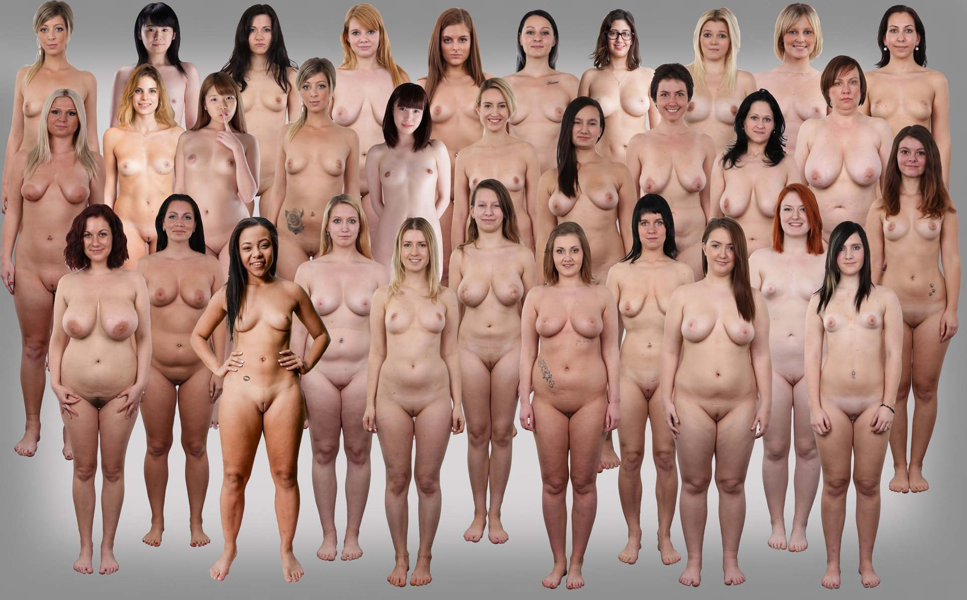 Naked group, porn galery